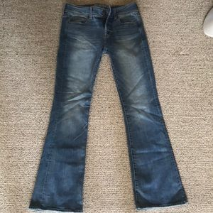 American Eagle Flare Stretch X jeans size 6